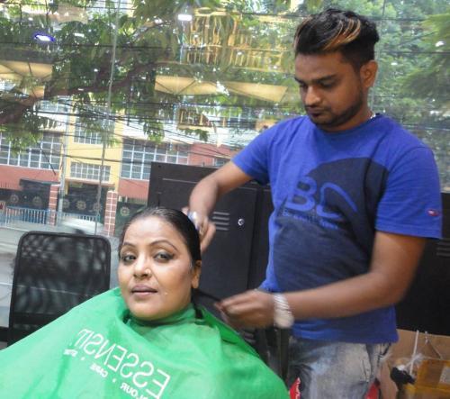 Actress Papiya Chaodhury at Be Bonnie